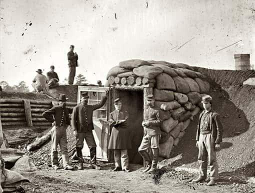 Soldaten der Union im Unabhängigkeitskrieg der USA