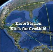 Vorschau: Karte der Ersten Station vor dem Treffen mit Sabeth - Google Earth (KLick zum Vergrößern)