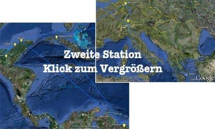 Vorschau: Karte der Zweiten Station -  Google Earth (KLick zum Vergrößern)