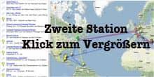 Vorschau: Karte der Zweiten Station - Google Maps (KLick zum Vergrößern)