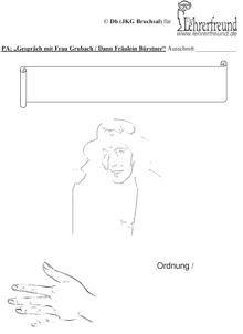 Vorschau: Arbeitsblatt zu Kapitel 2 des Proceß