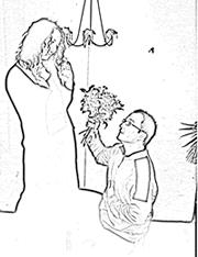 Snipplet: Standbild zu Kabale und Liebe, schwarzweiß