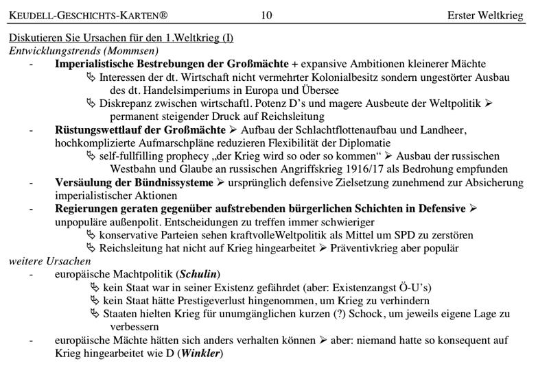 Erster Weltkrieg: Ursachen, Schlieffenplan, Weihnachtsfriede 1914 ...