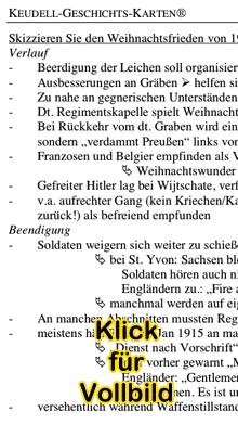 Vorschaubild: Karte 'Ursachen des Ersten Weltkriegs' aus Keudell-Geschichtskarten (Karte 10), Ausschnitt