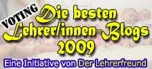 Lehrerfreund-Lehrerblog 2009-Badge - Säuglinge