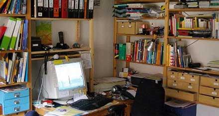 Lehrer-Schreibtisch, Querformat