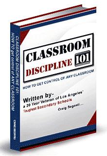 (Virtuelles) Cover des E-Books 'Classroom-Discipline 101'