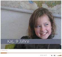 Screenshot: Video von Geolino, wo Kinder im Rahmen des 'Kinder-Werte-Monitor' befragt werden