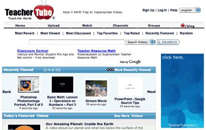 Logo von TeacherTube - Videoportal für den Edu-Bereich