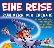 Titelausschnitt: Kernenergie-Arbeitsheft 'Reise zum Kern der Energie' von AREVA NP