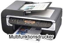 Multifunktionsdrucker mit Drucker, Scanner, Faxeinheit