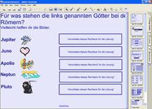 Vorschau: Smart-Board-Unterrichtsmodul 'Roemische Goetter'