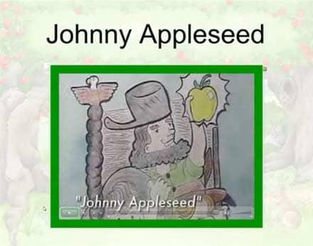 SMARTBoard-Einheit 'Appleseed', Screenshot 4: Johnny Appleseed
