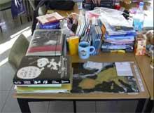 Lehrerarbeitszimmer in der Schule