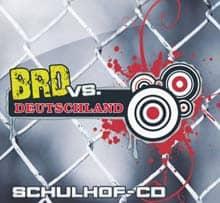 Cover der NPD-Schulhof-CD 'BRD vs. Deutschland'