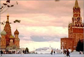 Russland - Roter Platz in Moskau