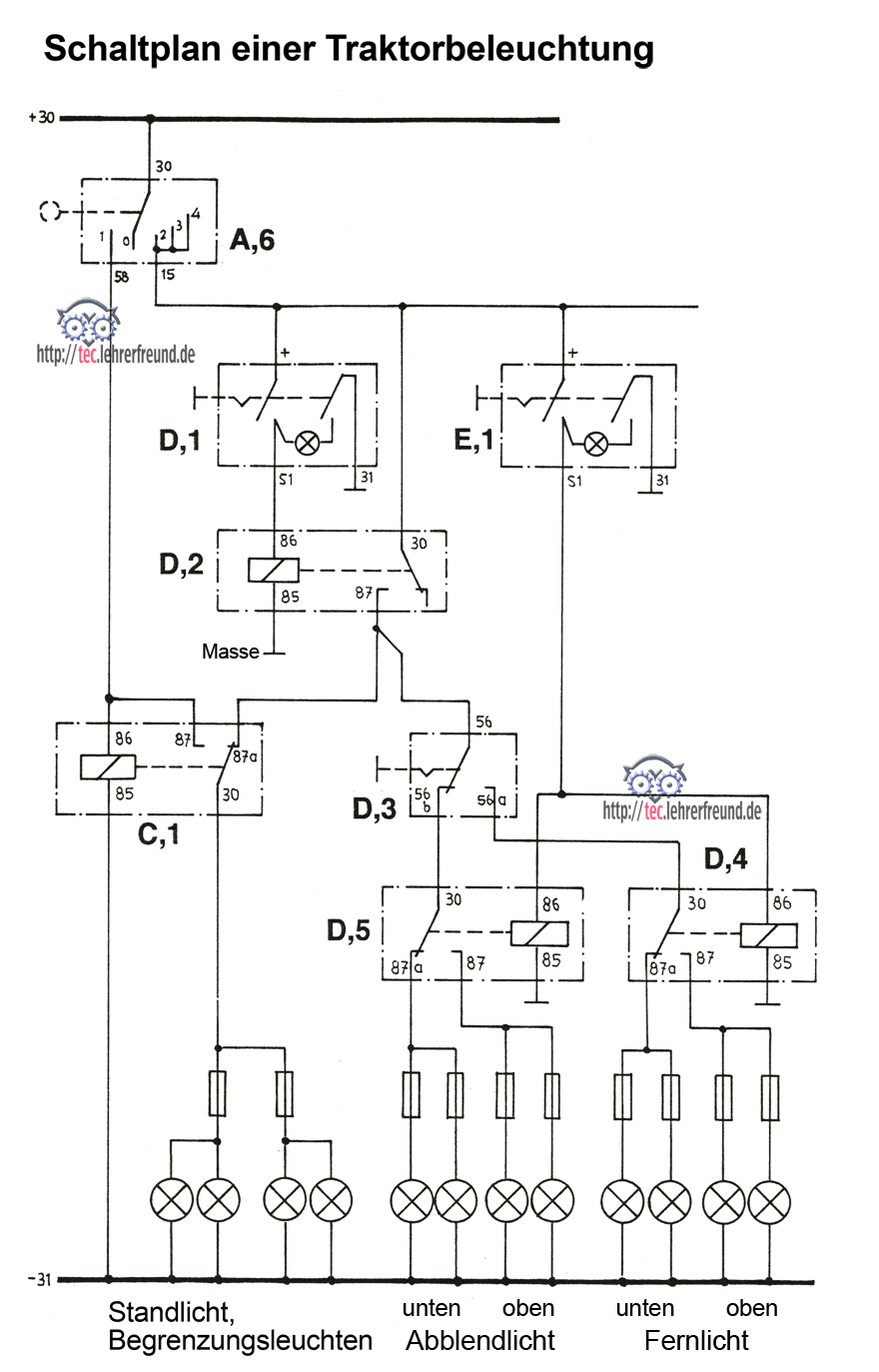 Ziemlich 3 Wege Schaltplan Power Bei Licht Ideen - Der Schaltplan ...