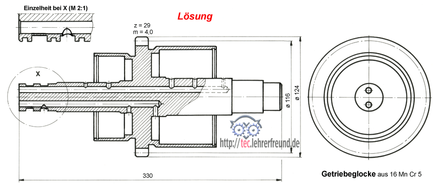 technisches zeichnen fehlerhafte zeichnung verbessern tec lehrerfreund. Black Bedroom Furniture Sets. Home Design Ideas