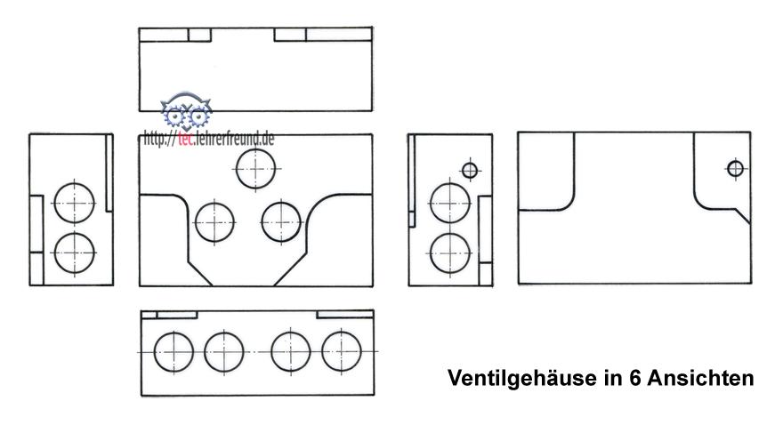 zeichenaufgabe ventilgeh use tec lehrerfreund. Black Bedroom Furniture Sets. Home Design Ideas