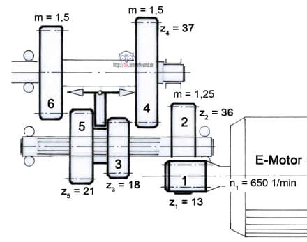 zweistufiges stirnradgetriebe technische zeichnung. Black Bedroom Furniture Sets. Home Design Ideas