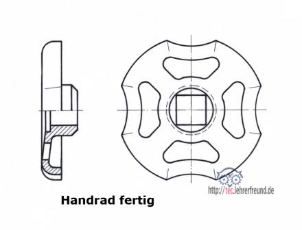 wirtschaftlich zeichnen 4 ein handrad vorzeichnen tec lehrerfreund. Black Bedroom Furniture Sets. Home Design Ideas