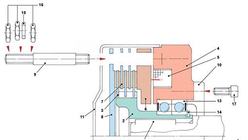 gesamtzeichnung lamellenbremse 1 tec lehrerfreund. Black Bedroom Furniture Sets. Home Design Ideas