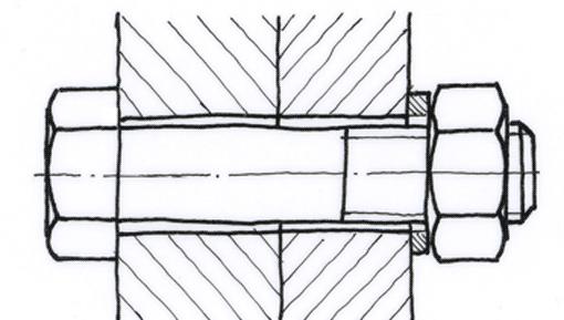 freihandzeichnen 2 h ufig verwendete technische formen tec lehrerfreund. Black Bedroom Furniture Sets. Home Design Ideas