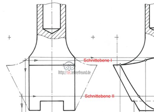 kurs technisches zeichnen tec lehrerfreund. Black Bedroom Furniture Sets. Home Design Ideas