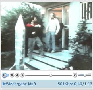 Screenshot: Ausschnitt aus dem Wahlwerbespot der Gruenen 1980 (Thema: Atomraketen)