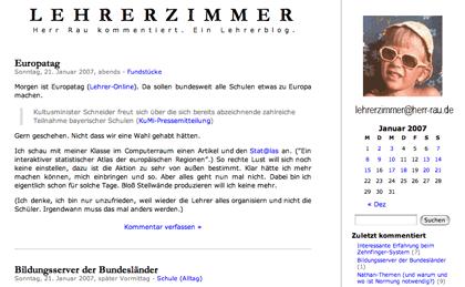 screenshot: lehrerzimmer